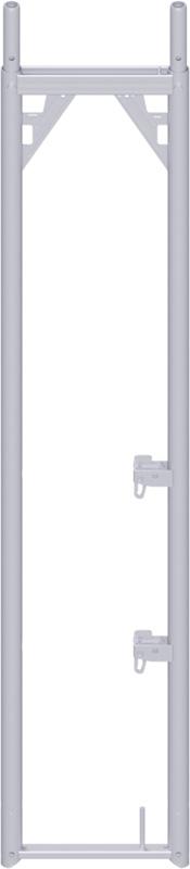 ALFIX - Cadre en acier 2.00 x 0.37 m