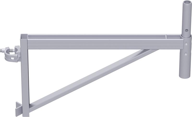 ALFIX - Console en acier 0.73 m avec demi-collier
