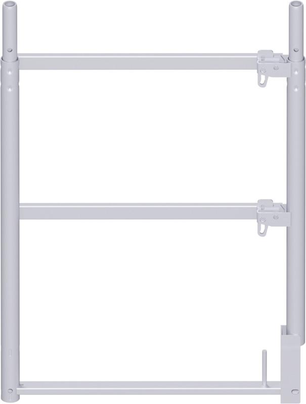 ALFIX - Cadre d'extrémité en acier 1.00 x 0.73 m