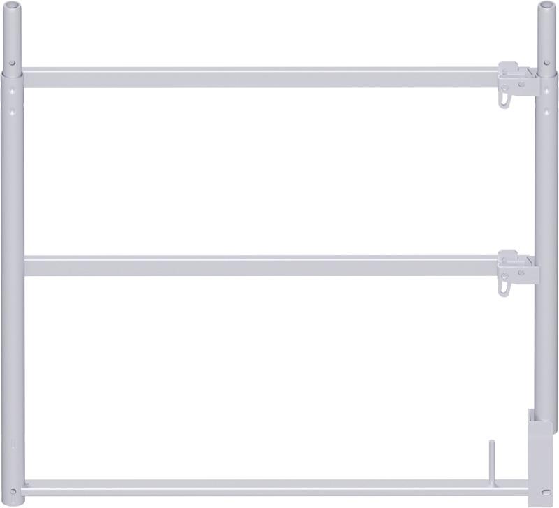 ALFIX - Cadre d'extrémité en acier 1.00 x 1.09 m