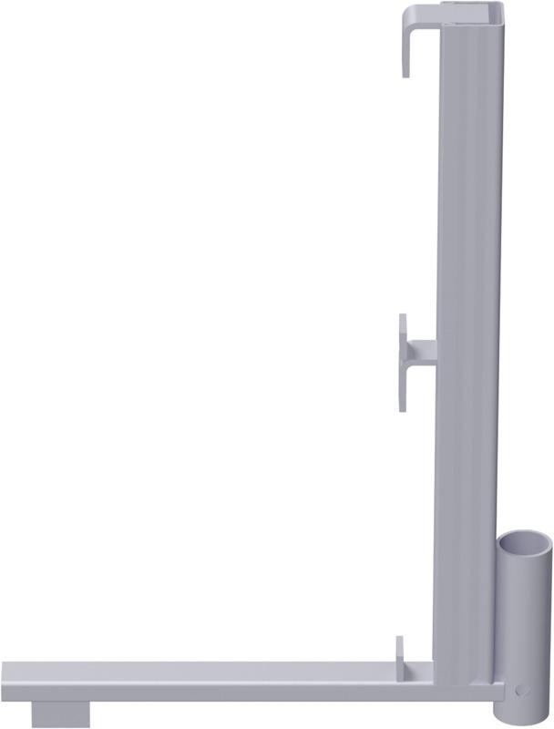 ALFIX - Support de protection en acier 0.46 x 0.66 m