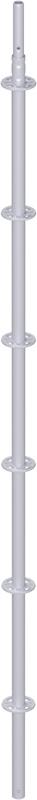 MODUL - Montant vertical en acier avec raccord de tube emboutis 3.00 m