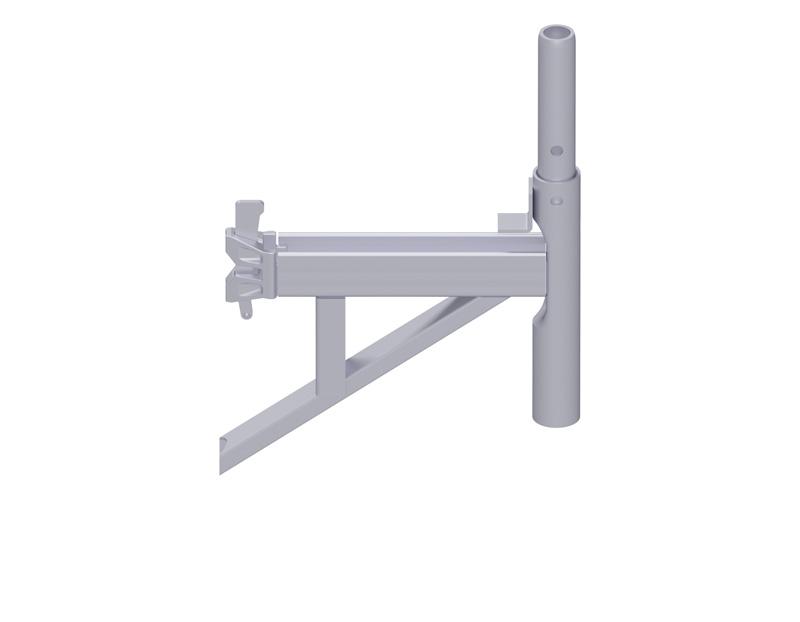 MULTI - Console en U en acier 0.36 m