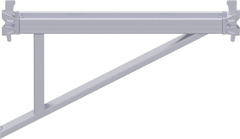 MULTI - Console en U 0.73 m avec 2 têtes à clavettes