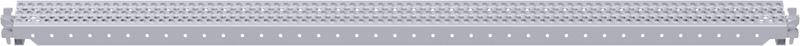 MULTI - Poutrelle-fente en acier 2.57 x 0.16 m