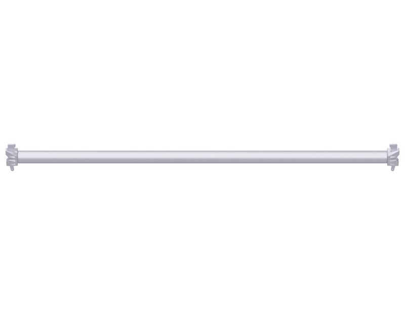 MULTI - Diagonale horizontale en acier à clavette 1.57 x 1.57 m