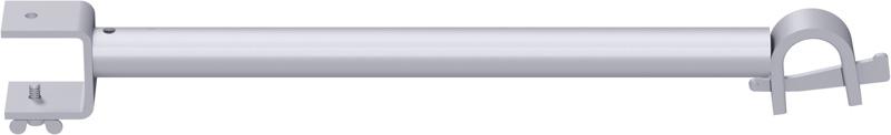 MODUL - Support-plancher intermédiaire de bord RE en acier (version de plancher à tube) 0.32 m
