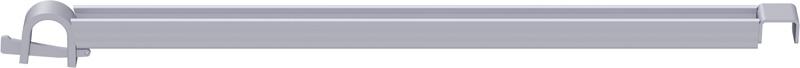 MULTI - Support plancher d'appui en U en acier 0.73 m