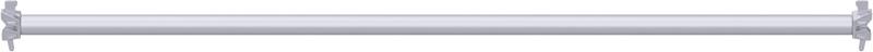 MULTI - Support-plancher à tube en acier 2.57 m