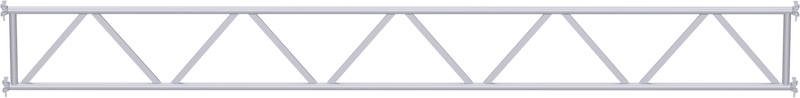 MULTI - Poutre en treillis tubulaire en acier 5.14 m