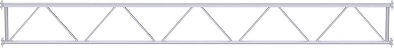 MULTI - Poutre en treillis en U en acier 6.14 m