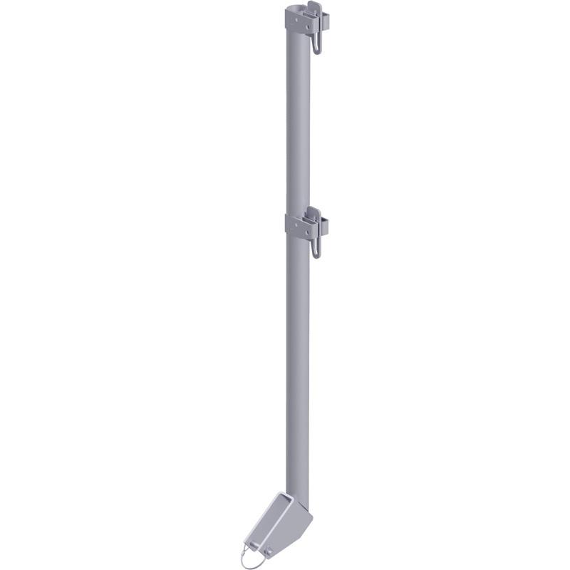 ALFIX - Poteau de garde-corps d'escalier FACADE 1.10 m (Fermeture tour d'accès dernier niveau)