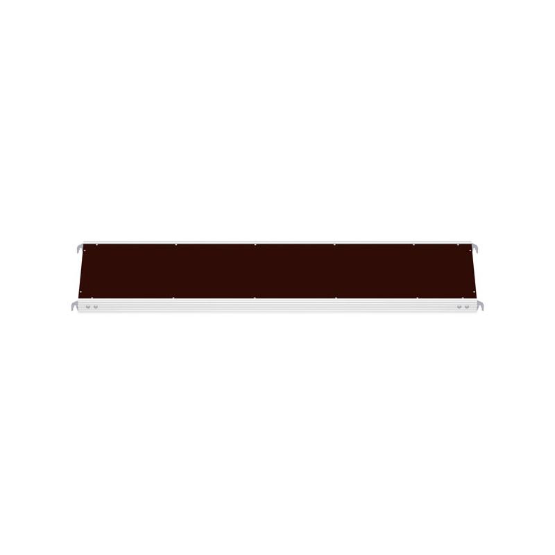 ALFIX - Plancher alu/bois 2.57 x 0.60 m