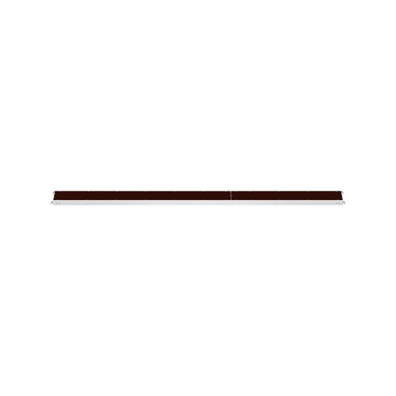 ALFIX - Plancher alu/bois 4.14 x 0.32 m
