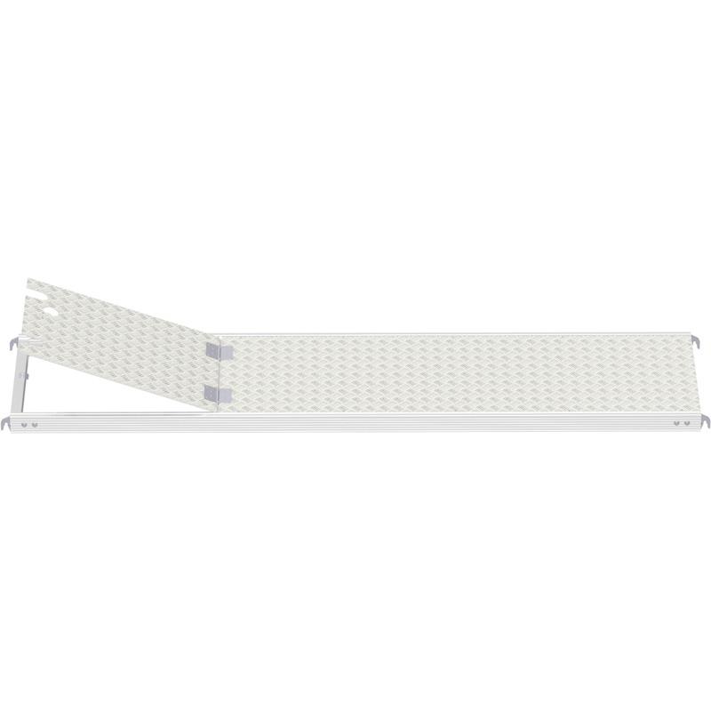ALFIX - Plancher tout alu avec trappe sans échelle 3.07 x 0.60 m