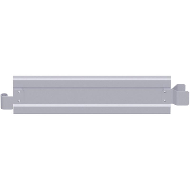 ALFIX - Plinthe d'extrémité en acier 1.09 x 0.15 m