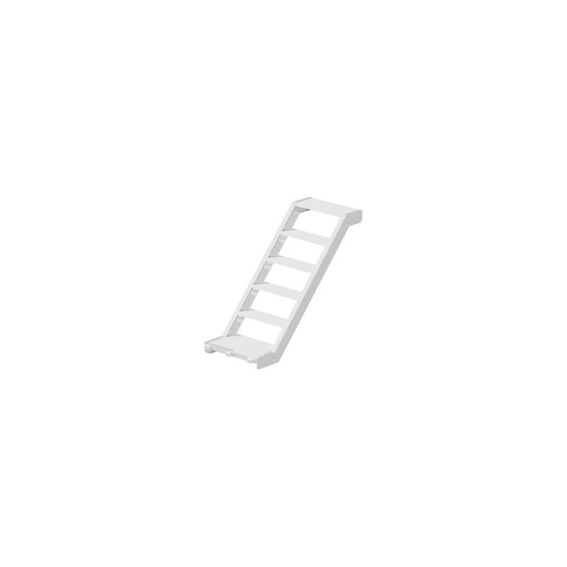 MULTI - Volée d'escalier en aluminium 1.40 x 1.00 x 0.62 m