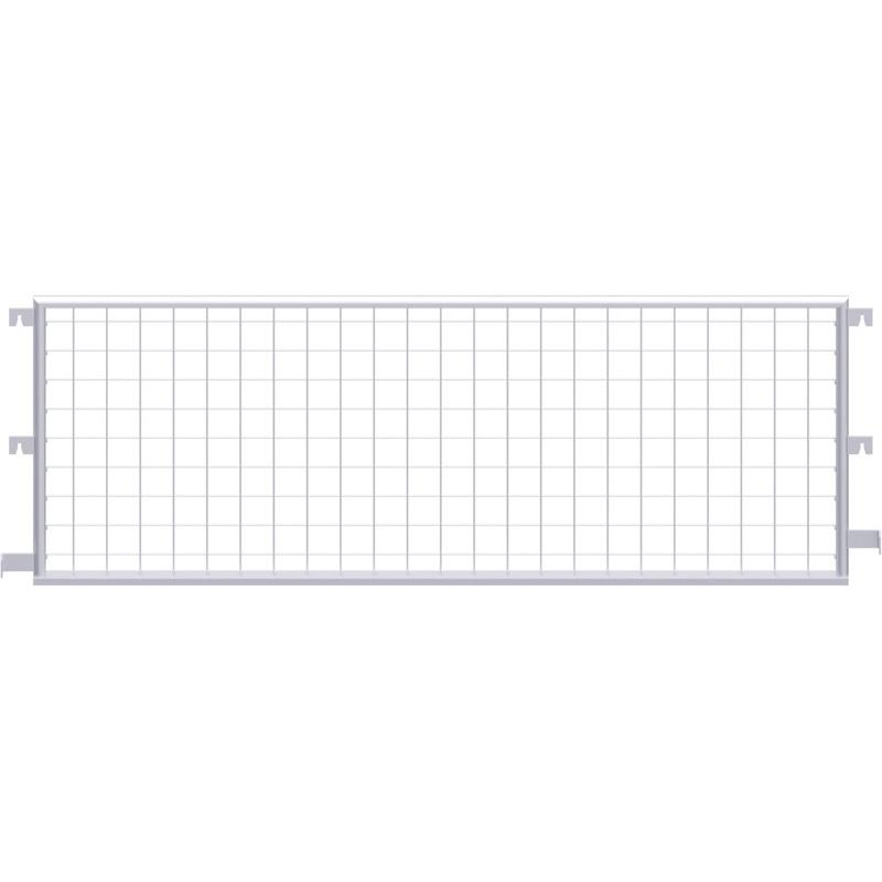 ALFIX - Protection latérale grillagée en acier 2.57 x 1.00 m