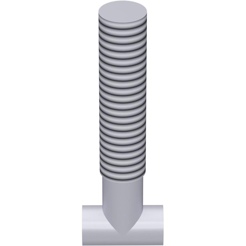 Vis à tête marteau M14