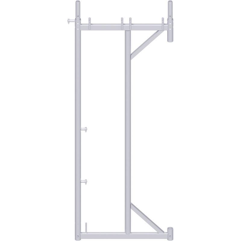 UNIFIX - Cadre porte-à-faux en acier 2.00 x 0.40 m