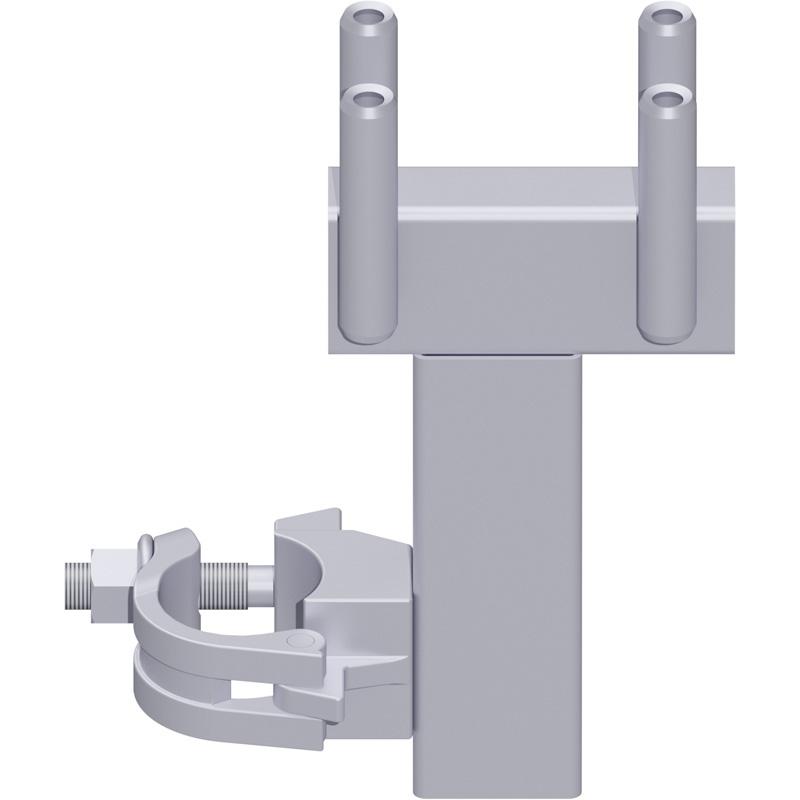 UNIFIX - Console en acier 0.15 m avec demi-collier et raccord de tube