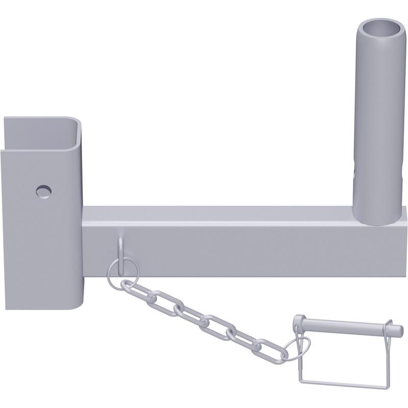 UNIFIX - Console en acier pour angle intérieur 0.25 m