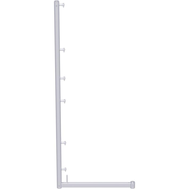 UNIFIX - Support pour filet de protection en acier 2.00 x 0.74 m