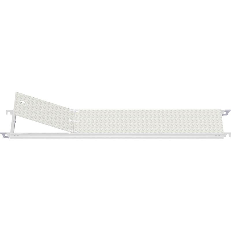 ROULANT - Plancher tout alu avec trappe 2.60 x 0.60 m