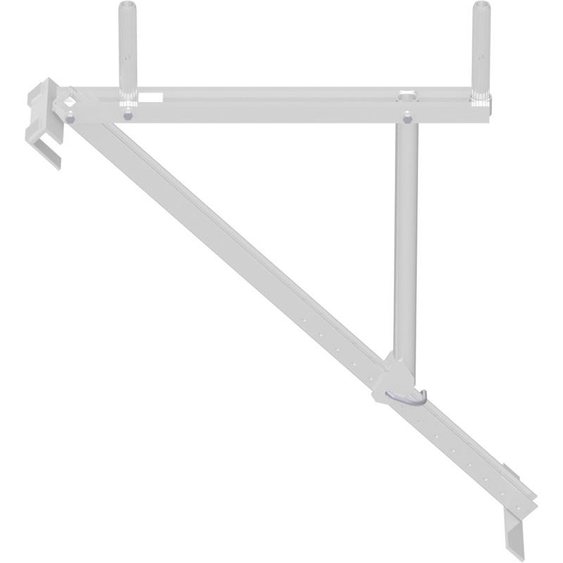 Console pour échafaudage de toit en aluminium 0.73 m