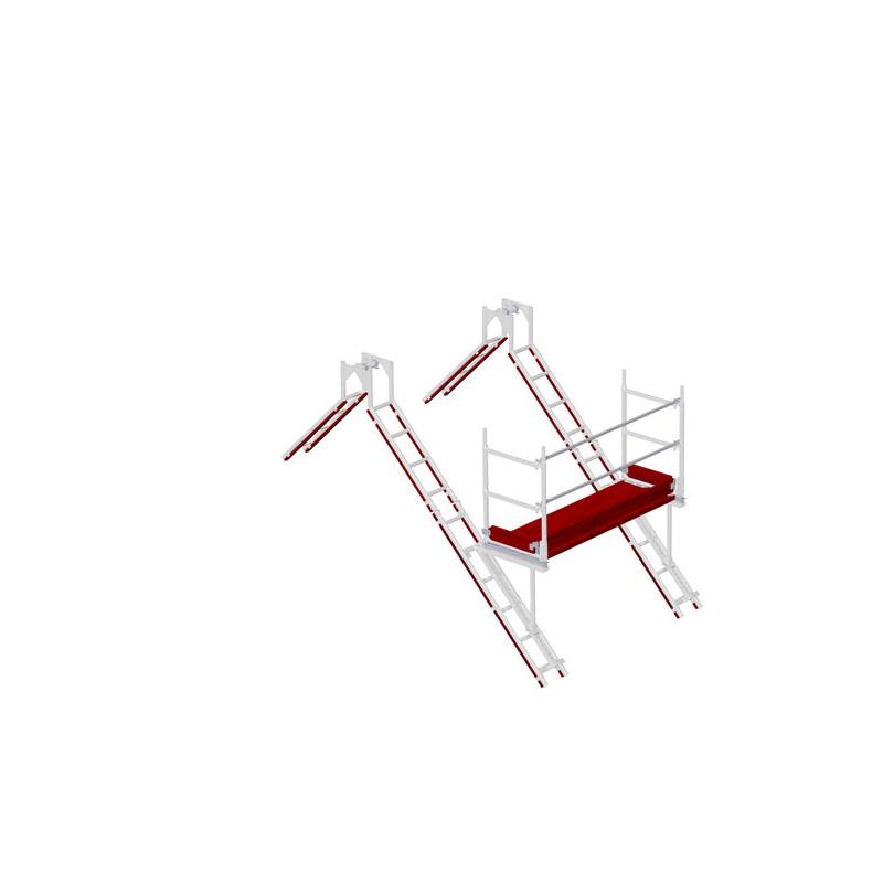 Echafaudage de cheminée et de toit ALFIX - Distance de cheminée 2.00 m