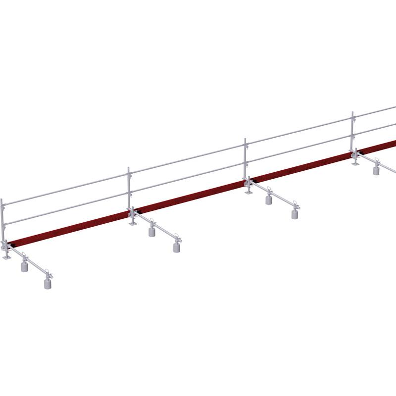 Protection antichute toit plat kit complet pour 15 m