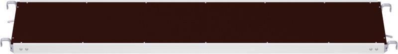 Plancher alu/bois RE 3.07 x 0.60 m