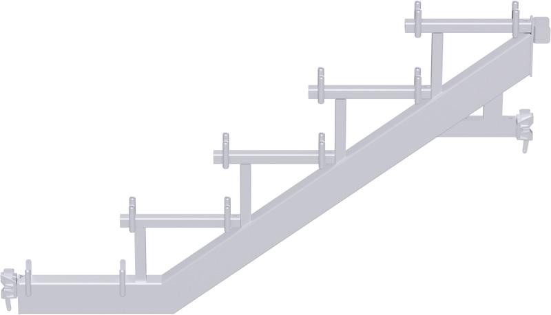 METRIQUE - Limon Modul avec tête à clavette - charge maxi 500 kg/m² (classe de charge 5) - 1.50 x 1.00 m