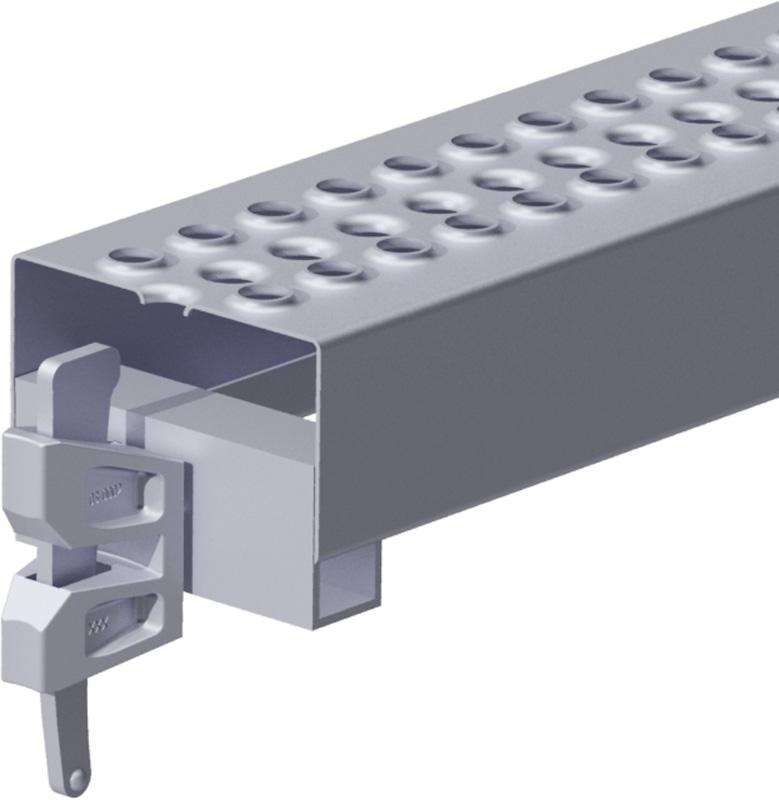 METRIQUE - Poutrelle-fente en acier 1.10 x 0.12 m