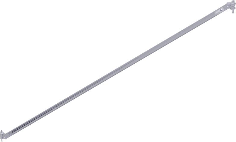 METRIQUE - Diagonale verticale en acier 0.50 x 2.00 m