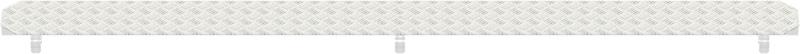 METRIQUE - Recouvrement fente en aluminium 1.10 x 0.19 m
