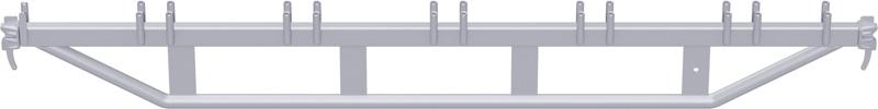 METRIQUE - Double support-plancher en acier 2.50 m