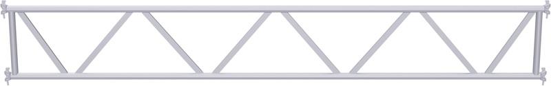 METRIQUE - Poutre en treillis tubulaire en acier 8.00 m