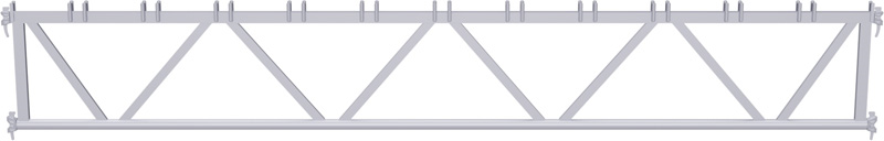 METRIQUE - Poutre en treillis en acier système UNIFIX 3.00 m
