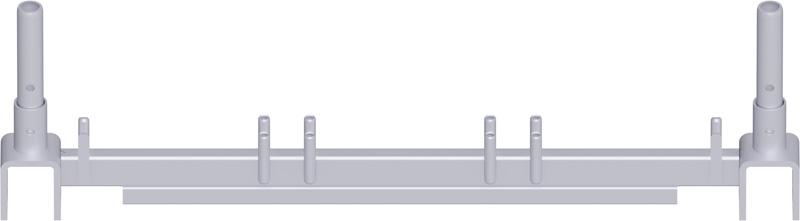 METRIQUE - Traverse poutre en treillis en acier système UNIFIX 1.10 m